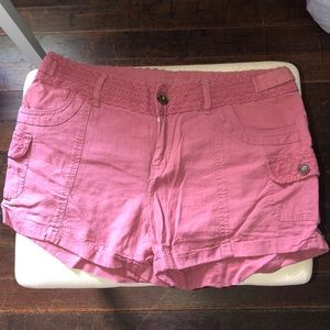 Rose pink Maurices shorts